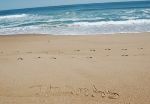 thanks-on-beach